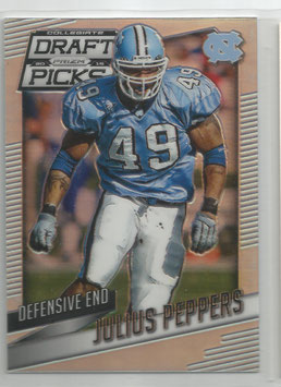 Julius Peppers (North Carolina/ Packers) 2015 Panini Prizm Collegiate Draft Picks Prizms #56