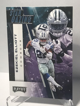 Ezekiel Elliott (Cowboys) 2017 Panini Playoff Star Gazing #2