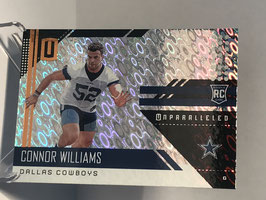 Connor Williams (Cowboys) 2018 Panini Unparalleled FLIGHT #276