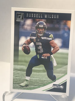 Russell Wilson (Seahawks) 2018 Donruss #257