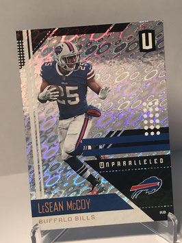 LeSean McCoy (Bills) 2018 Panini Unparalleled FLIGHT #21
