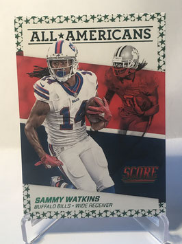 Sammy Watkins (Bills) 2016 Score All-Americans Green #18