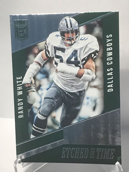 Randy White (Cowboys) 2016 Donruss Elite Etched in Time Green #ET-RW