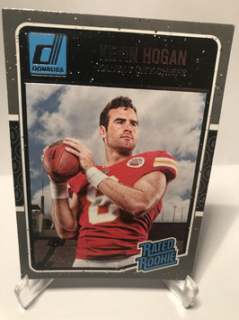 Kevin Hogan (Chiefs) 2016 Donruss Rated Rookie #382