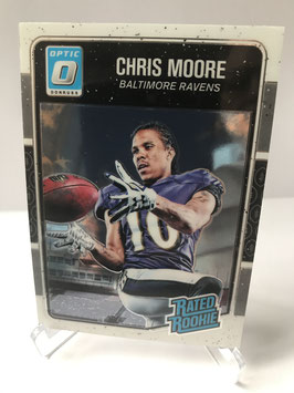 Chris Moore (Ravens) 2016 Donruss Optic Rated Rookie #157