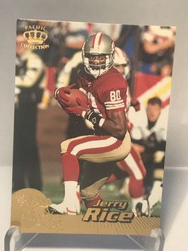 Jerry Rice (49ers) 1996 Pacific Crown Collection #378
