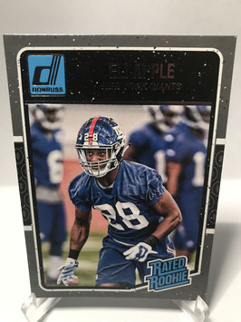 Eli Apple (Giants) 2016 Donruss Rated Rookie #367