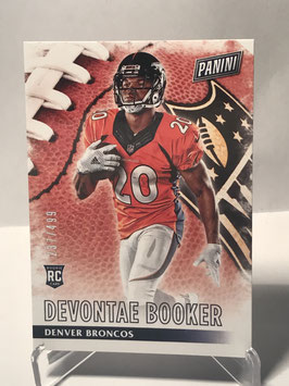 Devontae Booker (Broncos) 2016 Panini Black Friday #60