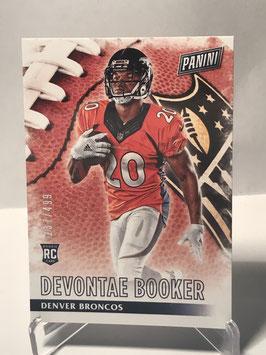 Devontae Booker (Broncos) 2016 Panini Black Friday #60