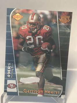 Garrison Hearst (49ers) 1999 Collector's Edge Triumph Galvanized #T8