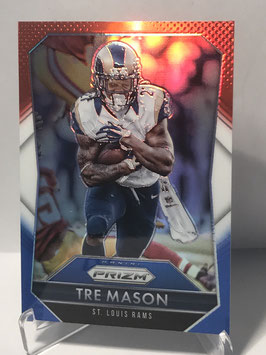 Tre Mason (Rams) 2015 Panini Prizm Prizms Red/White/Blue #157