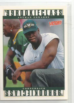 Antwan Edwards (Packers) 1999 Upper Deck Victory #405