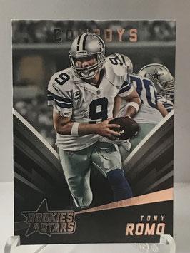 Tony Romo (Cowboys) 2015 Rookies & Stars #51