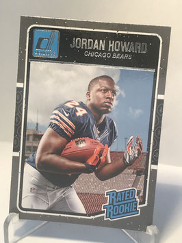 Jordan Howard (Bears) 2016 Donruss Rated Rookies #377