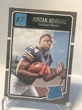 Jordan Howard (Bears) 2016 Donruss Rated Rookies #377