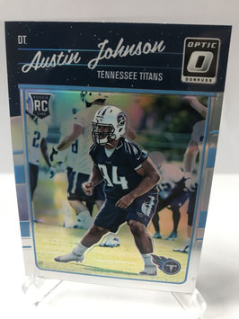 Austin Johnson (Titans) 2016 Donruss Optic Holo #105