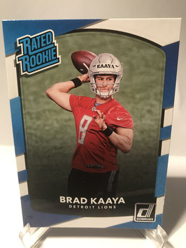Brad Kaaya (Lions) 2017 Donruss Rated Rookie #323