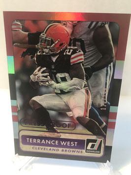 Terrance West (Browns) 2015 Donruss PressProof Blue #38