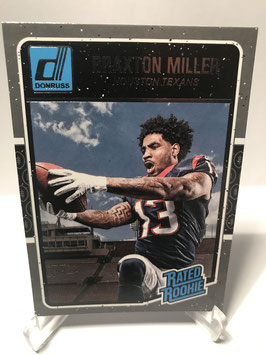 Braxton Miller (Texans) 2016 Donruss Rated Rookie #353