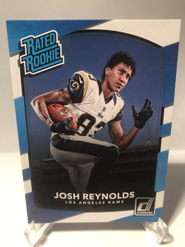 Josh Reynolds (Rams) 2017 Donruss Rated Rookie #301