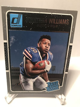 Jonathan Williams (Bills) 2016 Donruss Rated Rookie #376