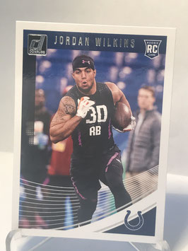 Jordan Wilkins (Colts) 2018 Donruss #381