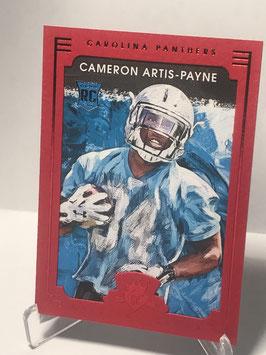 Cameron Artis-Payne (Panthers) 2015 Panini Gridiron Kings Red Frame #143
