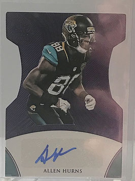 Allen Hurns (Jaguars) 2015 Panini Crown Royale Crown Signatures Purple #CS-AH