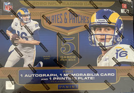 2020 Plates & Patches Hobby Box