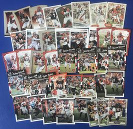 Cincinnati Bengals Team Package: 75 Basecards