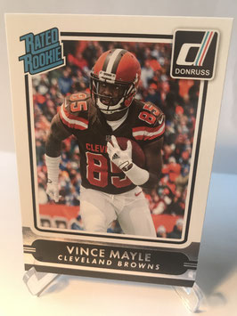Vince Mayle (Browns) 2015 Donruss Rated Rookie #233