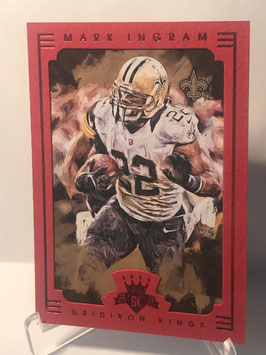 Mark Ingram (Saints) 2015 Gridiron Kings Red Frame #2