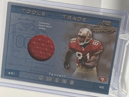 Terrell Owens (49ers) 2001 Absolute Tool of the Trade #TT18