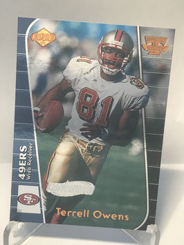Terrell Owens (49ers) 1999 Collector's Edge Triumph Galvanized #T51