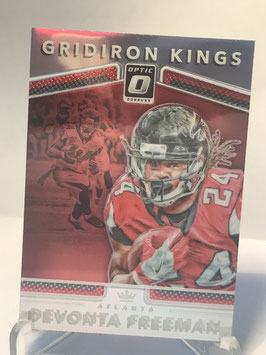 Devonta Freeman (Falcons) 2017 Donruss Optic Gridiron Kings #23