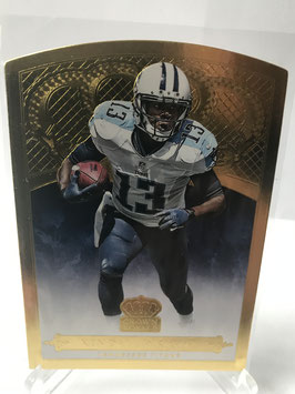Kendall Wright (Titans) 2015 Panini Crown Royale Gold #47