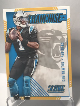 Cam Newton (Panthers) 2016 Score Franchise Gold #6