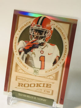 Trayvon Mullen Jr. (Clemson/ Raiders) 2019 Legacy Orange Prizm #197