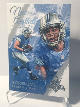 Golden Tate (Lions) 2015 Panini Gridiron Kings New Aesthetic #NA14