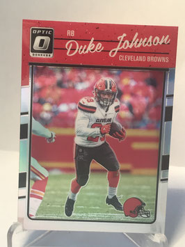 Dulke Johnson (Browns) 2016 Donruss Optic Holo #24