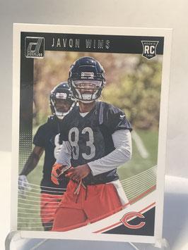 Javon Wims (Bears) 2018 Donruss #391