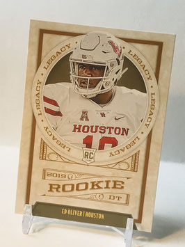 Ed Oliver (Houston/ Bills) 2019 Legacy #165