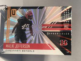 Malik Jefferson (Bengals) 2018 Panini Unparalleled SHINE #239