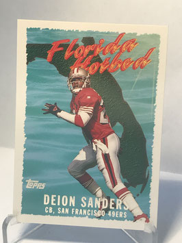 Deion Sanders (49ers) 1995 Topps Florida Hotbed #FH1