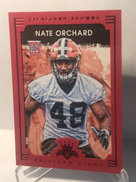 Nate Orchard (Browns) 2015 Panini Gridiron Kings Red Frame #152