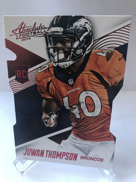Juwan Thompson (Broncos)  2014 Panini Absolute Retail Red #10