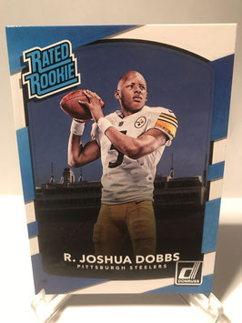 R. Joshua Dobbs (Steelers) 2017 Donruss Rated Rookie #309