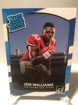 Joe Williams (49ers) 2017 Donruss Rated Rookie #308
