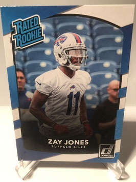 Zay Jones (Bills) 2017 Donruss Rated Rookie #309