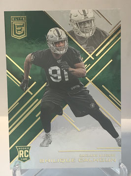Shilique  Calhoun (Raiders) 2016 Donruss Elite Retail Green #135